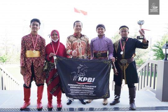 Indonesia sabet gelar ganda dalam turnamen panahan berkuda di Turki