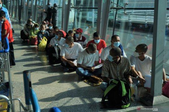 131 pekerja non prosedural Indonesia dipulangkan dari Malaysia