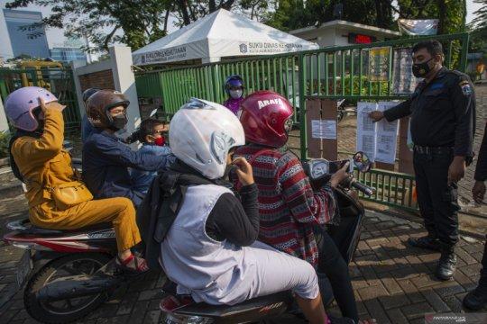 Kasus harian COVID-19 di DKI Jakarta kembali tertinggi