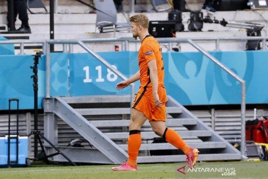 De Ligt merasa Belanda tersingkir dari Euro 2020 gara-gara dirinya