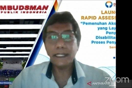 Ombudsman dorong kepolisian membuat SOP periksa penyandang disabilitas