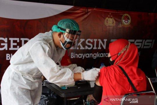 Gerai vaksin di Polres Pelabuhan Tanjung Priok sasar empat titik