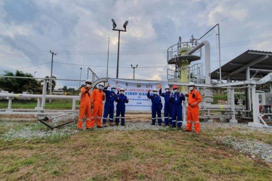 "Proyek ""first gas"" rampung siap penuhi kebutuhan industri di Jambi"