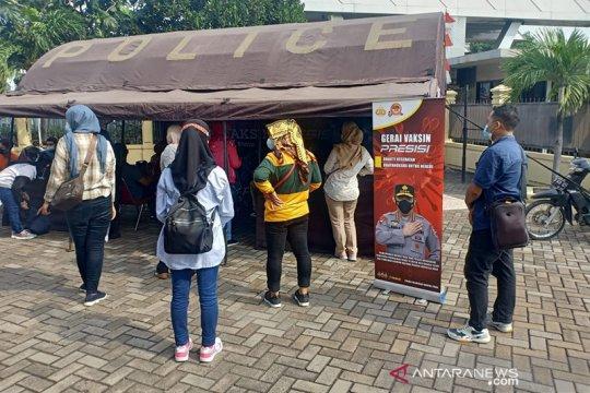 Polri dirikan gerai Vaksin Presisi di polres dan polsek se Indonesia