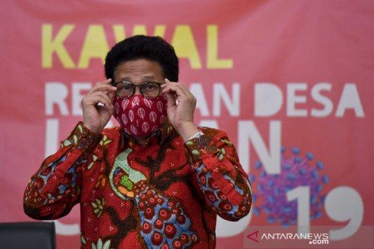 Mendes imbau masyarakat desa pakai masker dobel untuk tekan COVID-19