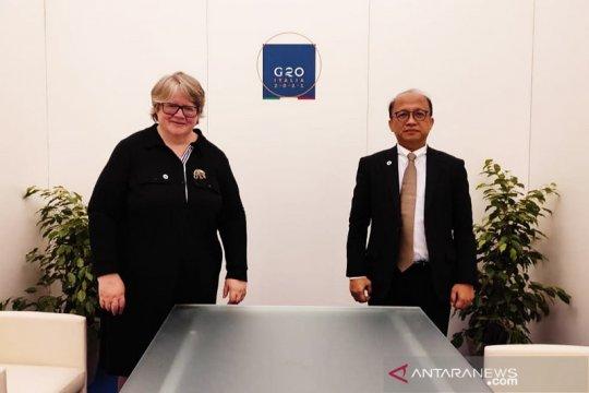 Untuk ajang EWG G20 pada 2022, Indonesia terus dapat dukungan