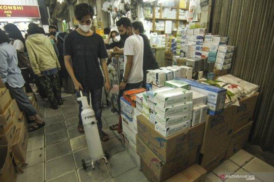 Penjual obat harga lampaui HET Kemenkes ditangkap polisi