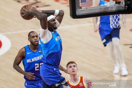 NBA Playoffs: Bucks memimpin 2-1 atas Hawks