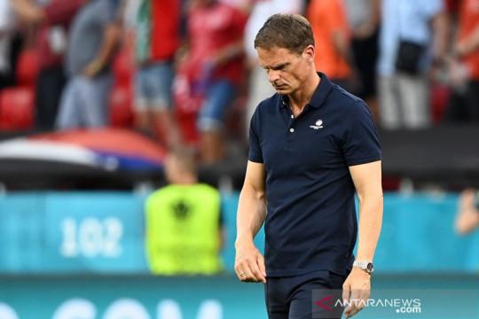 Gagal penuhi target, Frank de Boer tinggalkan kursi pelatih Belanda