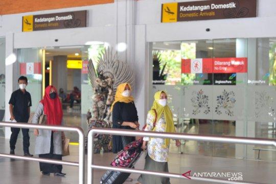 Penumpang yang tiba di Bandara Bali wajib tunjukkan hasil tes PCR