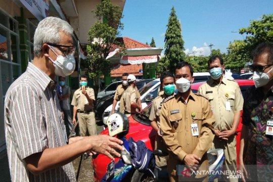 Gubernur Jateng: Tingkat keterisian tempat tidur sudah membahayakan