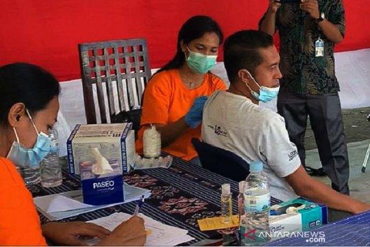WNI di perbatasan Indonesia-Timor Leste ikut program vaksinasi COVID