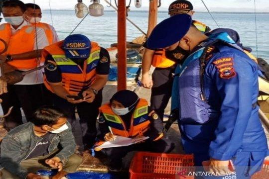 Polres Kotabaru menemukan nelayan gunakan alat tangkap pukat mini