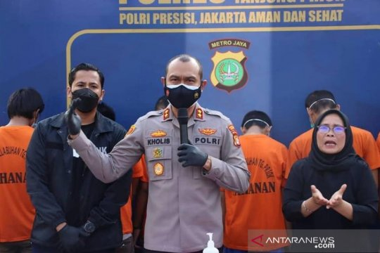 Polres Tanjung Priok tangkap 10 pengedar narkoba Malaysia-Indonesia
