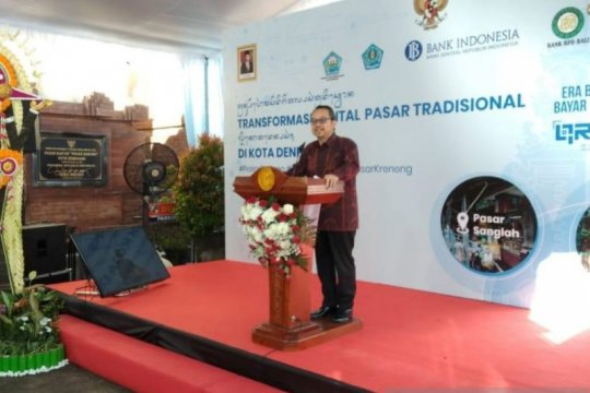 BI perluas transformasi digital di pasar tradisional Denpasar