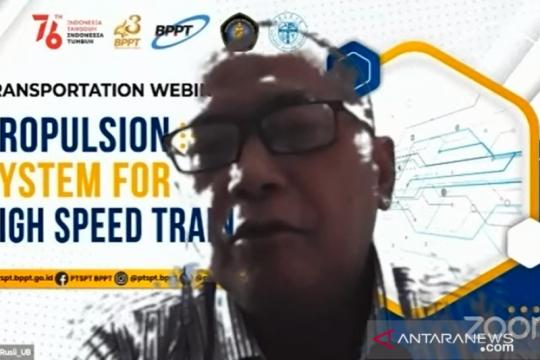 Pakar: Kereta cepat Indonesia perlu pengontrol perekat antislip