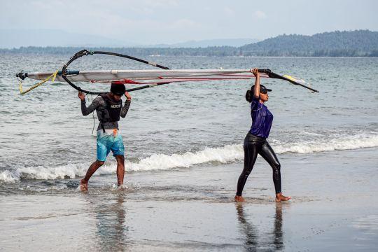 Atlet perahu layar Bumi Cendrawasih siap berlaga di PON XX Papua