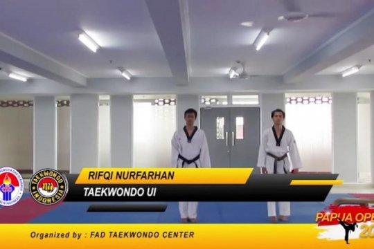 Mahasiswa UI sabet 7 medali kejuaraan virtual taekwondo Papua Open