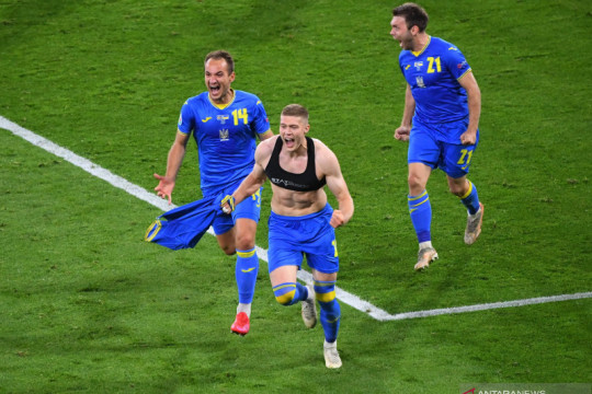 Euro 2020: Ukraina melaju ke perempat final setelah tundukkan Swedia