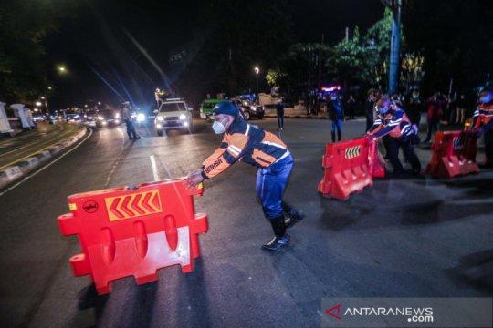 Bogor berlakukan penyekatan total kendaraan bermotor