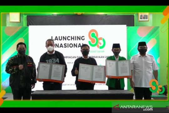 Pos Indonesia dan GP Ansor jalin kemitraan program agen Sobat Bayar