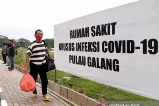 RSKI Pulau Galang kembali tangani pasien Batam
