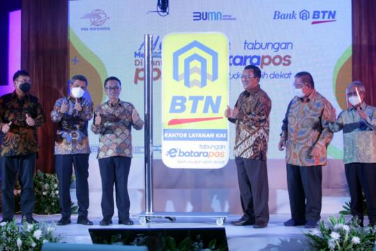 BTN rangkul PT Pos Indonesia bidik tabungan hingga Rp3,5 triliun