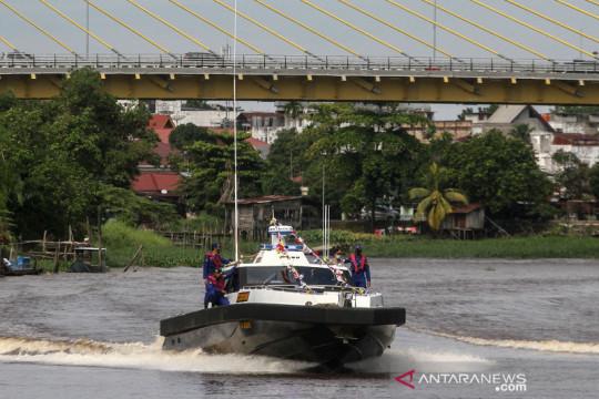 Ini penampakan KPC Lancang Kuning, kapal patroli baru milik Ditpolairud Polda Riau