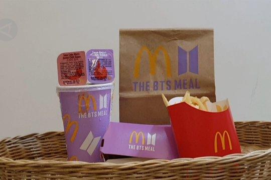 Ini dia BTS Meals yang kemarin viral itu