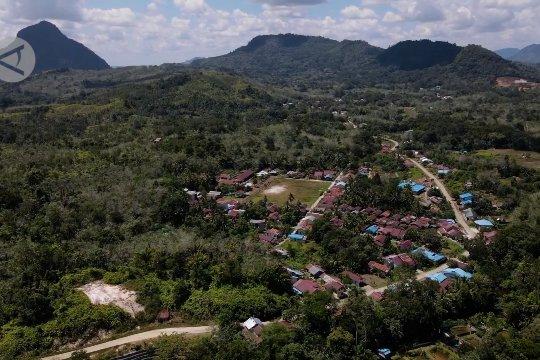 Pengembangan wilayah ekonomi hijau di jantung Kalimantan