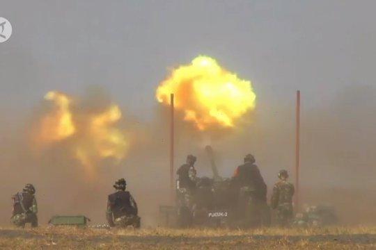 Cara Arhanud TNI-AD hancurkan pesawat musuh
