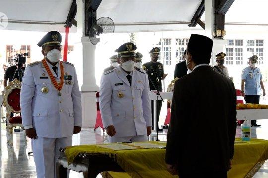 Gubernur Riau minta 2 bupati baru fokus tangani karhutla & pandemi