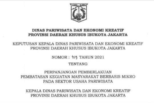 Jakarta kembali menutup sejumlah area publik