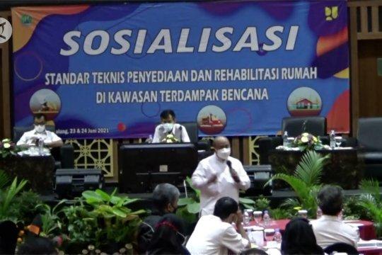 Pemkot Malang sosialisasi konstruksi bangunan tahan bencana