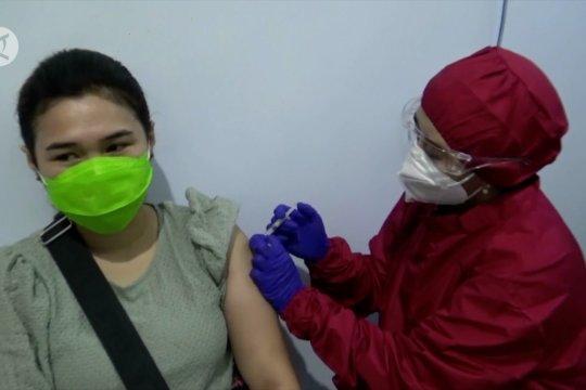 Polresta Malang Kota vaksinasi 3000 warga secara bertahap