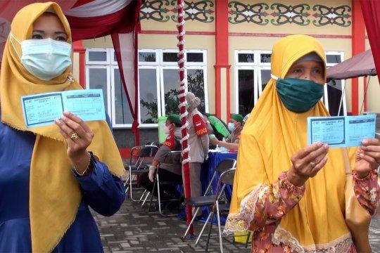 Festival Vaksin di Palu hingga vaksinasi 500 orangtua siswa SPN Kalteng