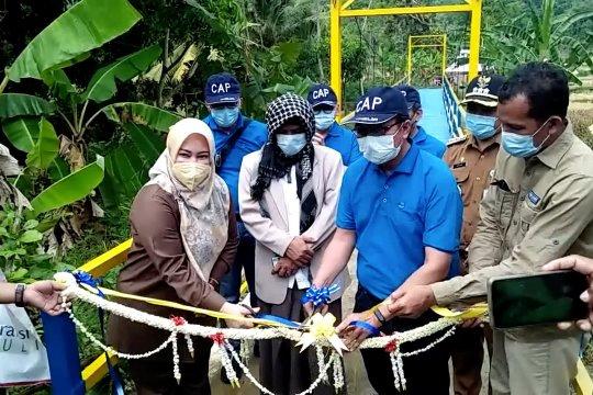 Hadirnya jembatan gantung Tangkilsari permudah akses warga Pandeglang