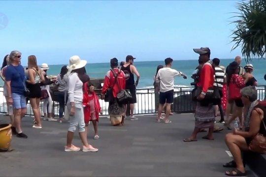 Kasus COVID-19 nasional dan global, acuan pembukaan Bali
