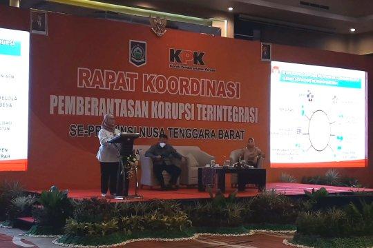 KPK minta NTB buat regulasi pendidikan pencegahan korupsi