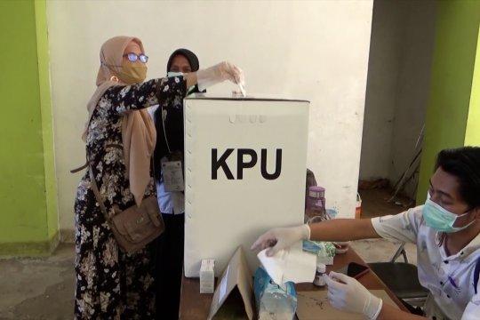 Pelaksanaan PSU Gubernur Kalsel di Banjarmasin berjalan aman dan tertib