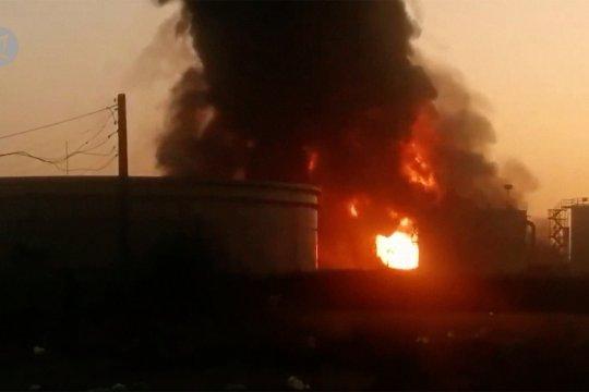 Kebakaran besar terjadi di kilang minyak Teheran