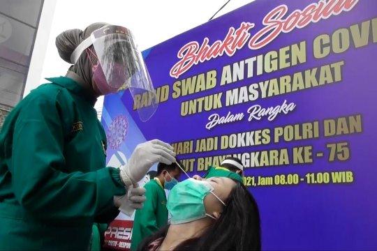 Polda Jawa Tengah gelar tes cepat antigen gratis