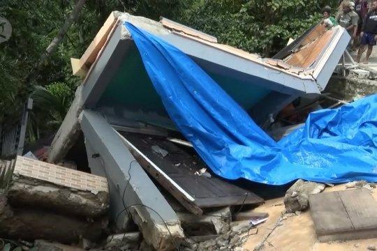 Bencana longsor terjang tiga kawasan di Kota Ambon