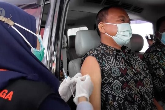Polda Jateng gelar vaksinasi COVID-19 tanpa turun