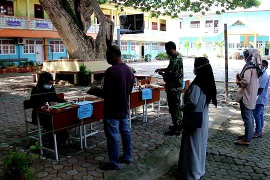 Penerimaan siswa baru di Lhokseumawe terapkan prokes ketat