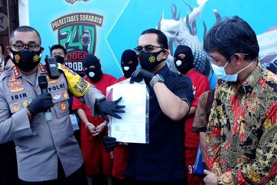 Polisi ungkap mafia tanah Surabaya