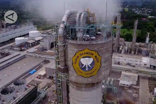 Tidak memiliki pasokan gas PT PIM berhenti produksi