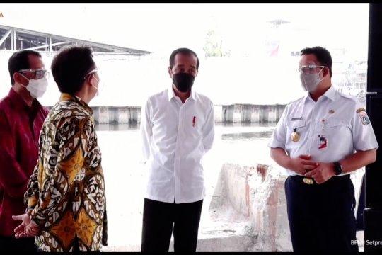 Jokowi ingin selesaikan pungli dan premanisme Tanjung Priok