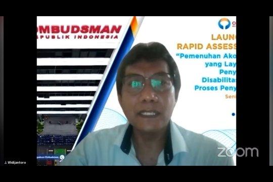 Ombudsman RI temukan potensi maladministrasi proses hukum penyandang disabilitas