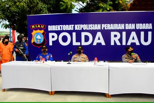 Polda Riau ungkap perdagangan kayu ilegal lintas negara